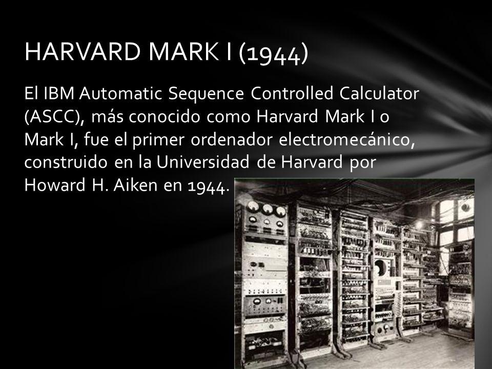 HARVARD MARK I (1944)
