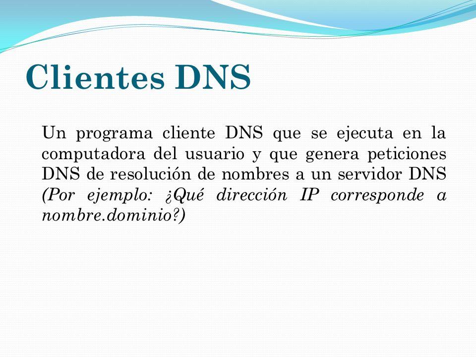 Clientes DNS