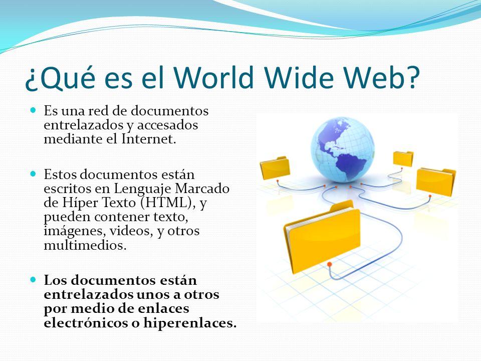 ¿Qué es el World Wide Web