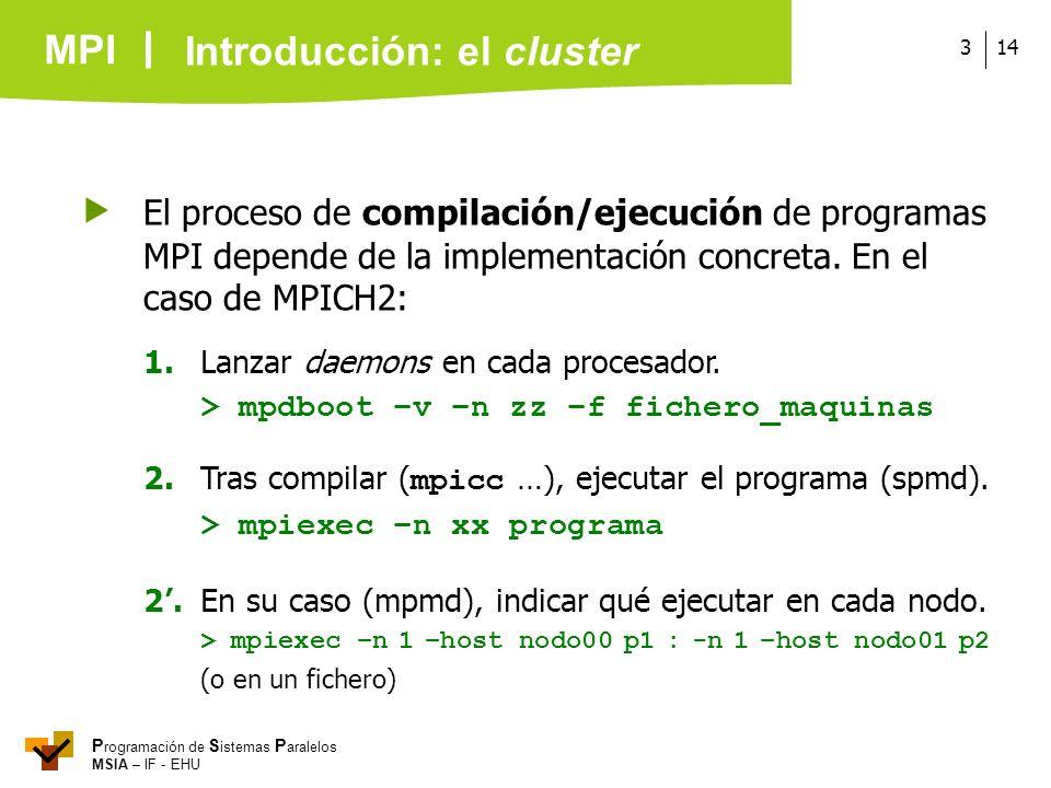 Introducción: el cluster