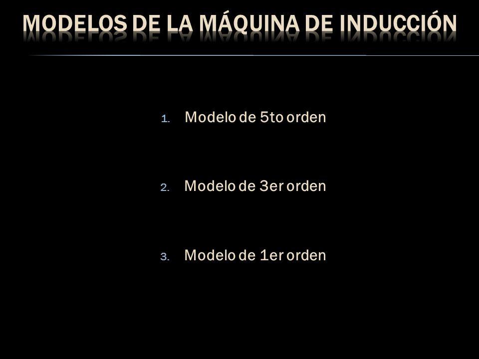 Modelos de la máquina de inducción