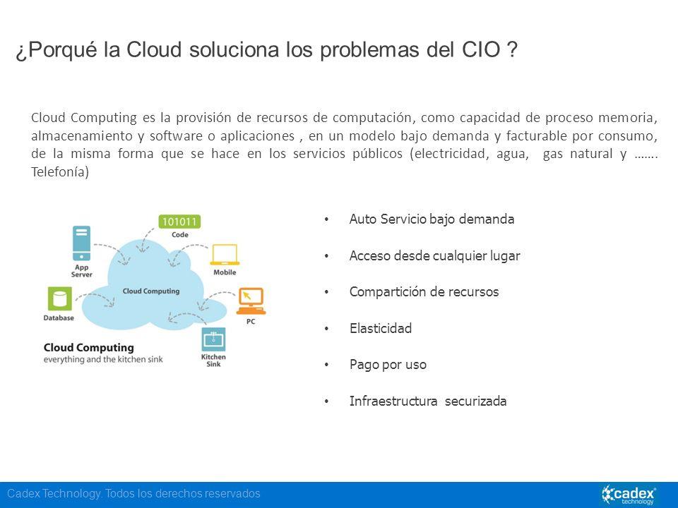 ¿Porqué la Cloud soluciona los problemas del CIO