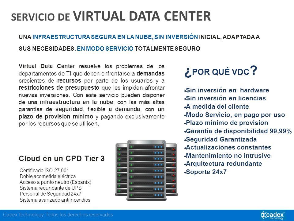 SERVICIO DE VIRTUAL DATA CENTER