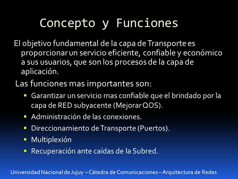 Concepto y Funciones Las funciones mas importantes son: