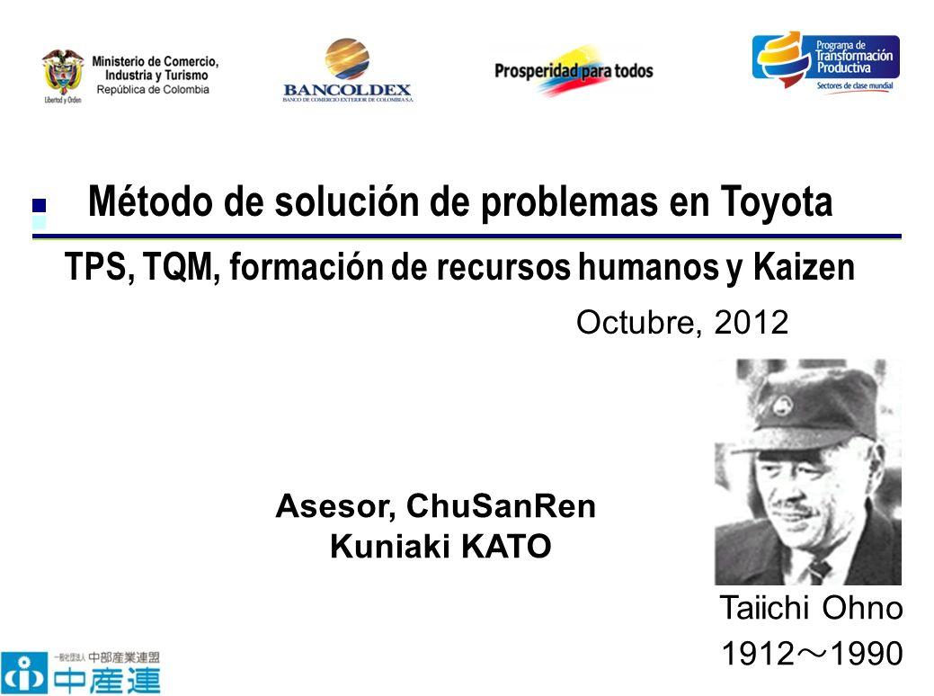 Método de solución de problemas en Toyota