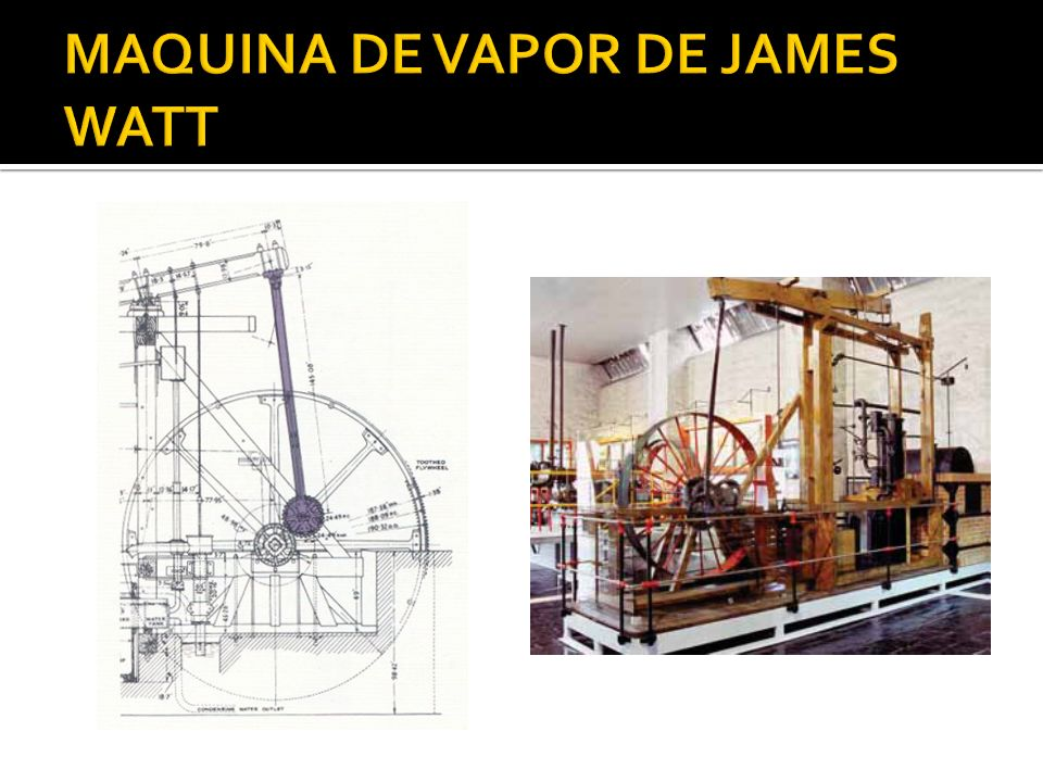 MAQUINA DE VAPOR DE JAMES WATT
