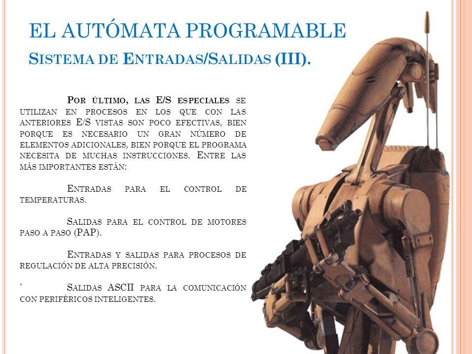 EL AUTÓMATA PROGRAMABLE