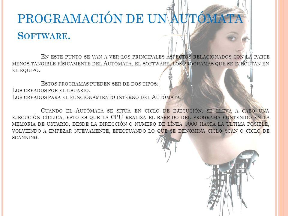 PROGRAMACIÓN DE UN AUTÓMATA
