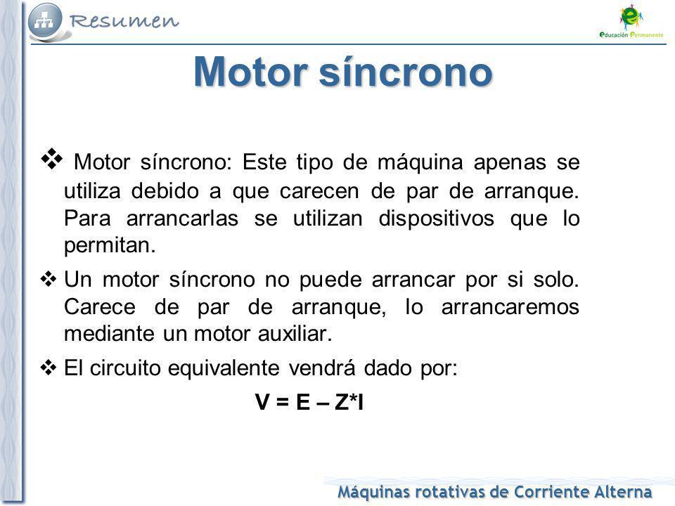 Motor síncrono