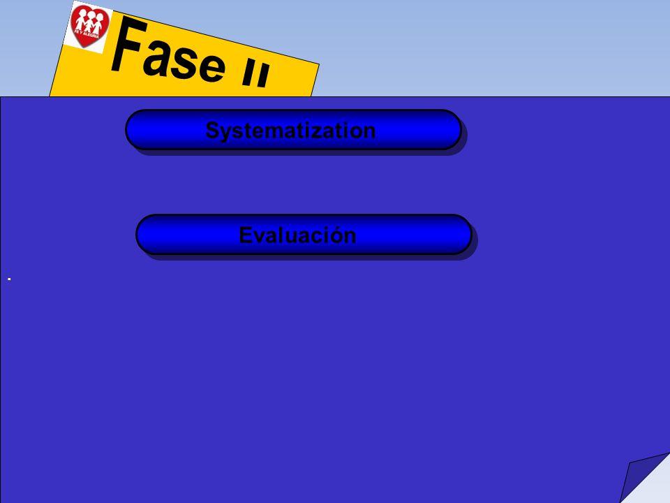 Systematization Evaluación