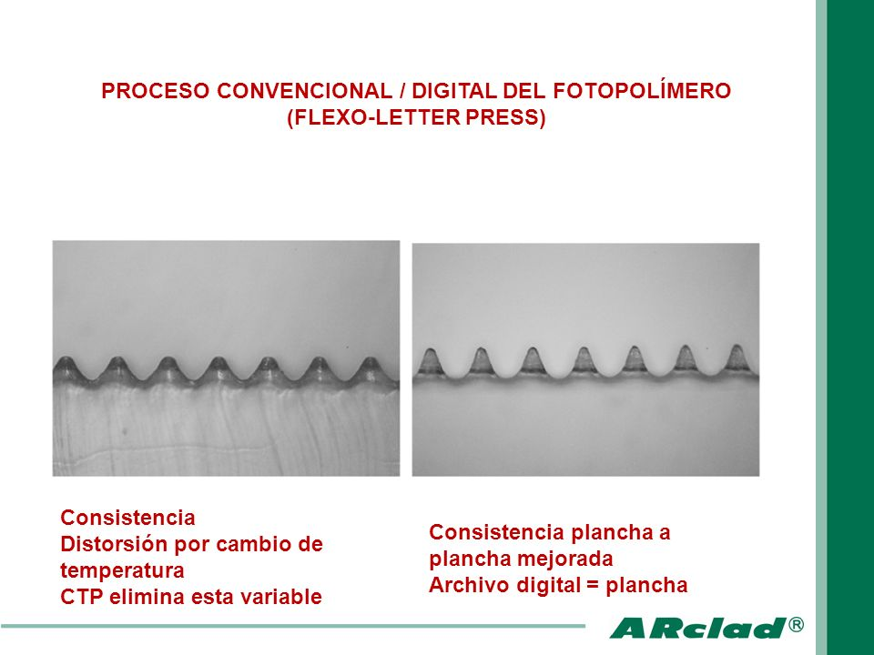 PROCESO CONVENCIONAL / DIGITAL DEL FOTOPOLÍMERO (FLEXO-LETTER PRESS)