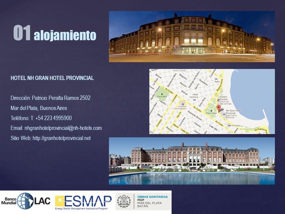 01 alojamiento HOTEL NH GRAN HOTEL PROVINCIAL