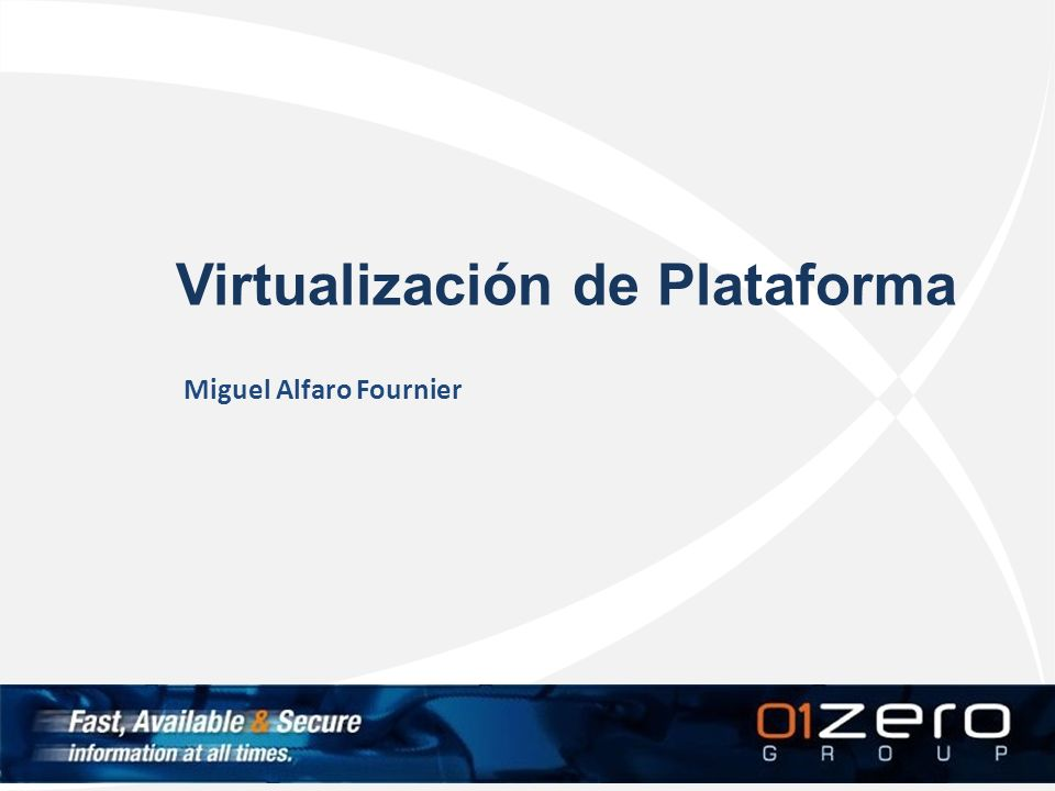 Virtualización de Plataforma