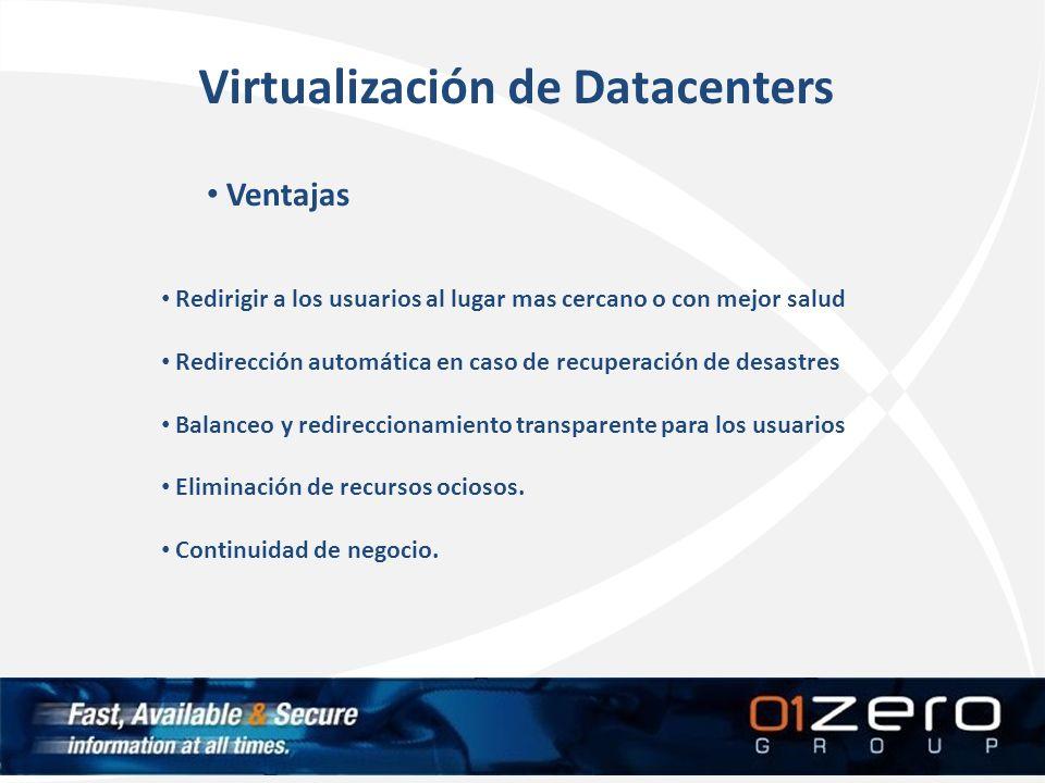 Virtualización de Datacenters