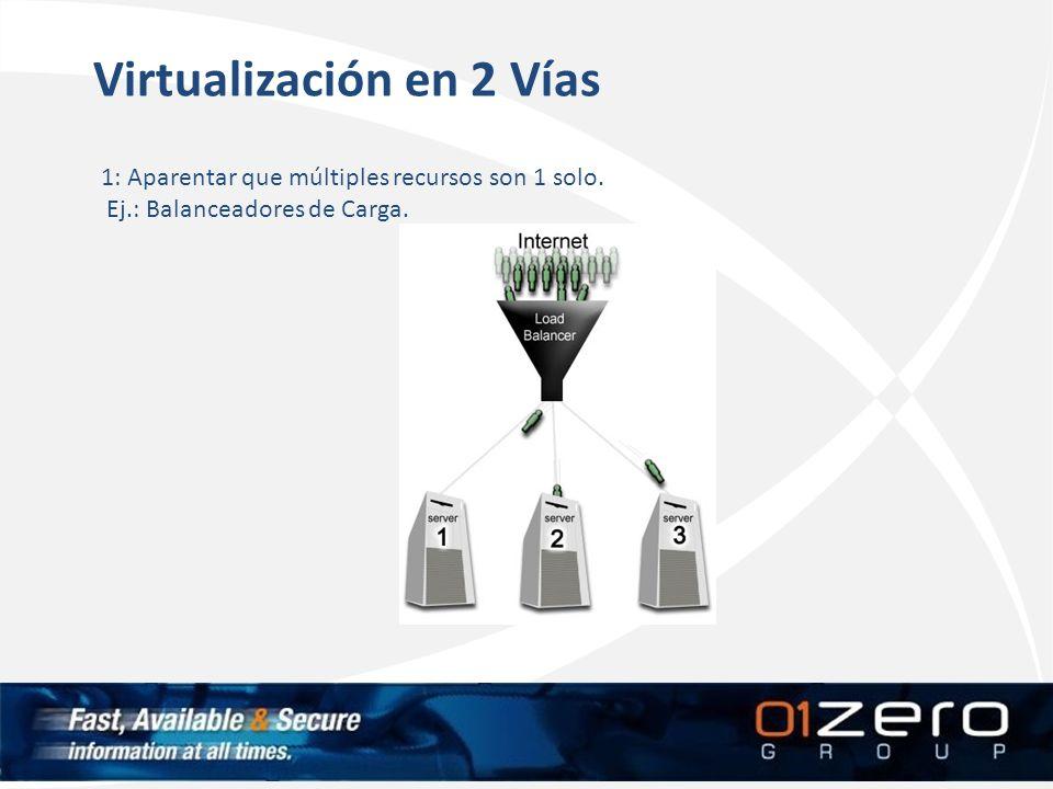 Virtualización en 2 Vías