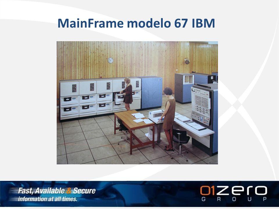 MainFrame modelo 67 IBM