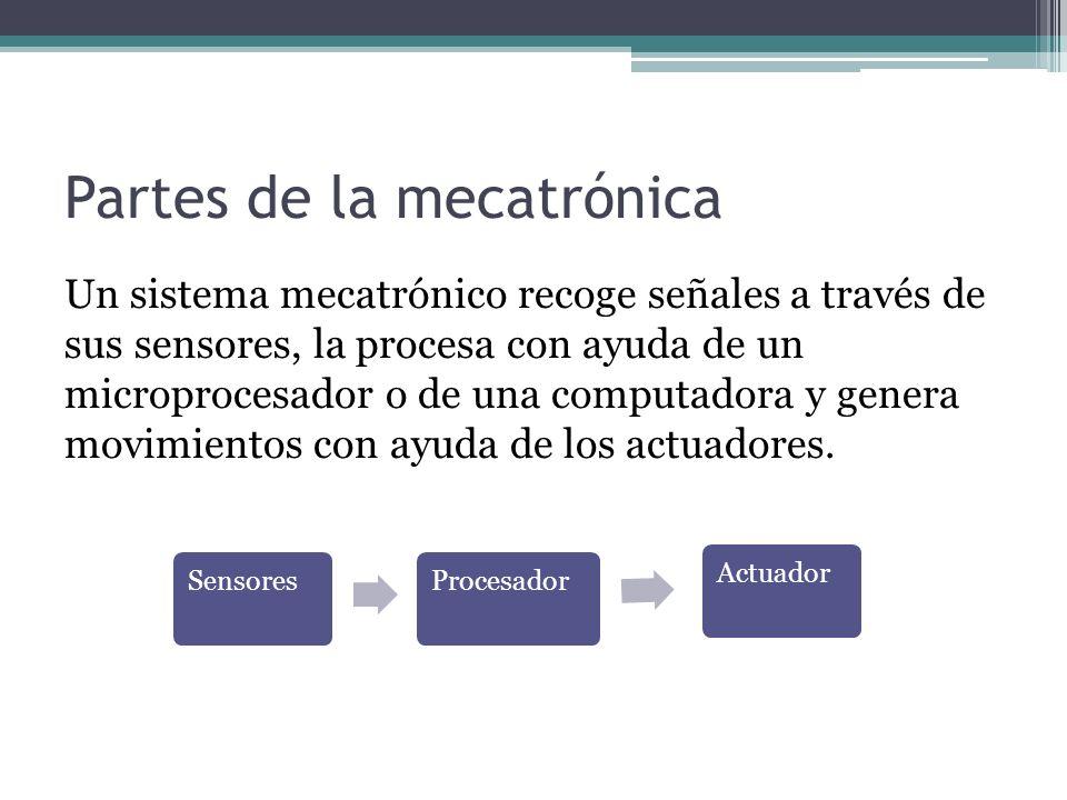 Partes de la mecatrónica