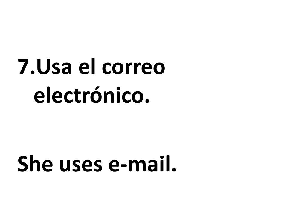 Usa el correo electrónico.