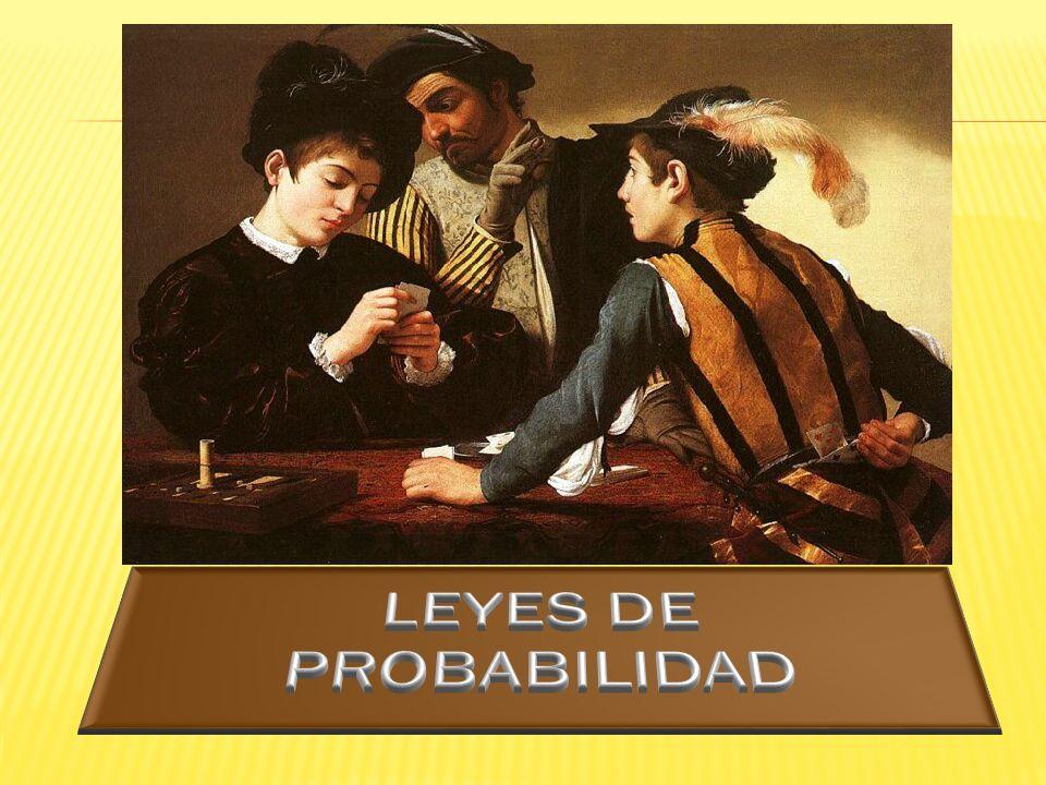 LEYES DE PROBABILIDAD