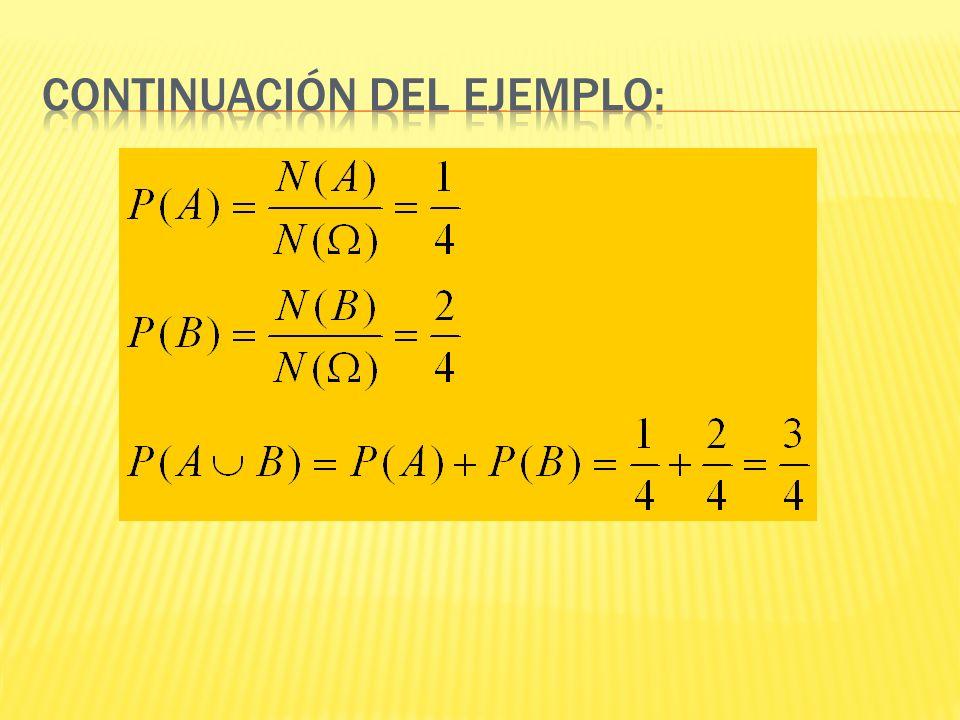 Continuación del ejemplo: