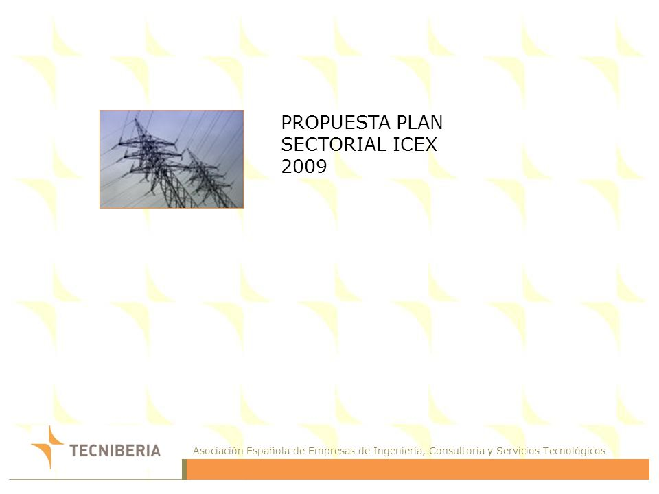 PROPUESTA PLAN SECTORIAL ICEX
