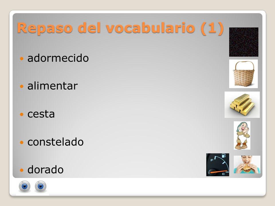 Repaso del vocabulario (1)