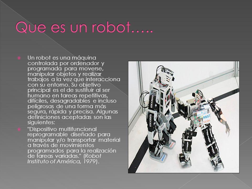 Que es un robot…..