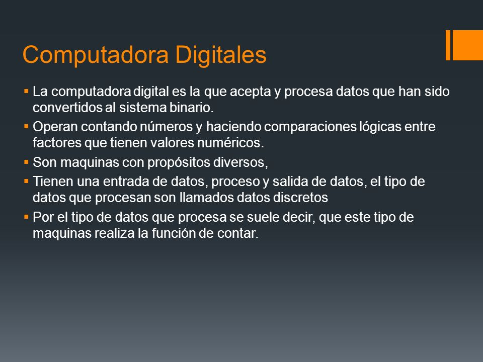 Computadora Digitales