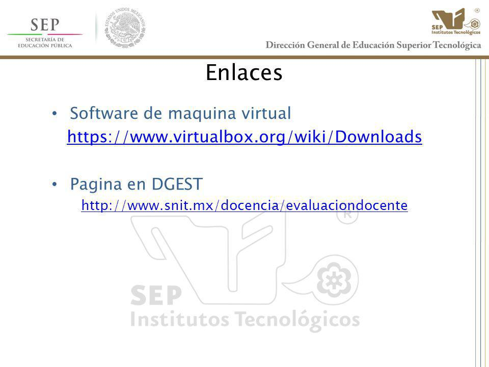Enlaces Software de maquina virtual