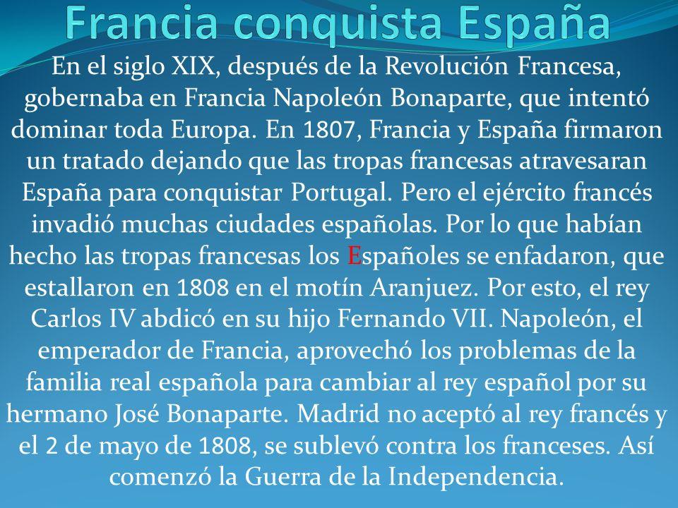 Francia conquista España