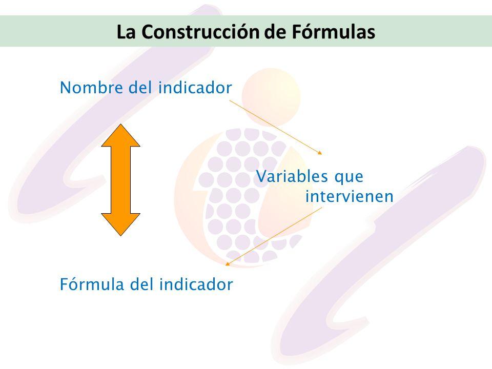 La Construcción de Fórmulas