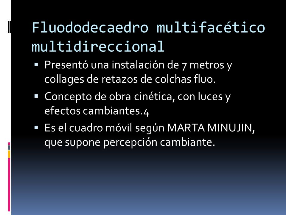 Fluododecaedro multifacético multidireccional