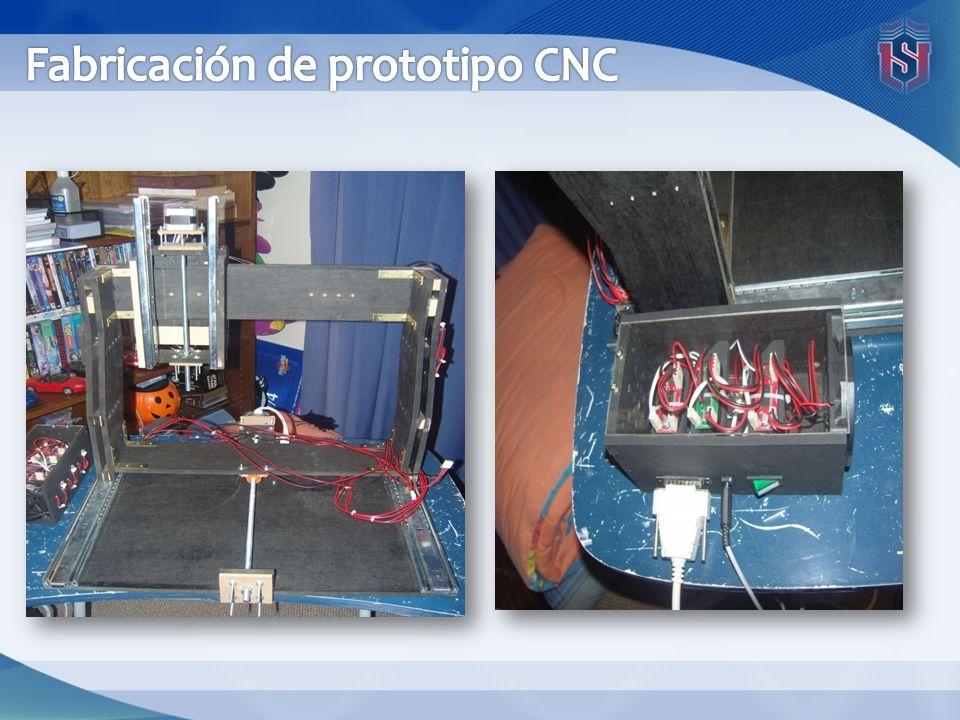 Fabricación de prototipo CNC