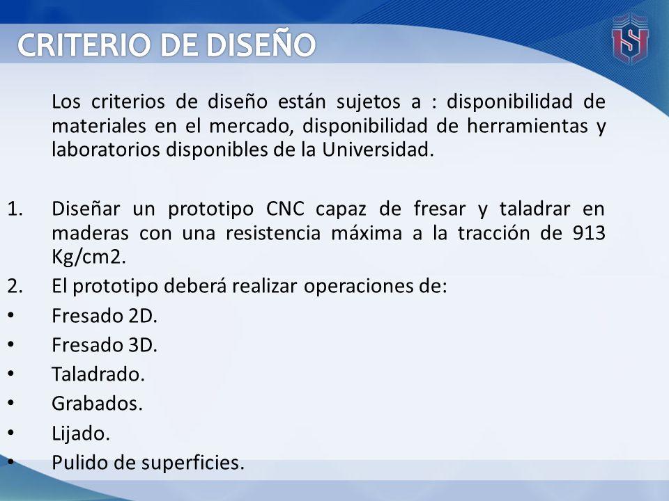 CRITERIO DE DISEÑO