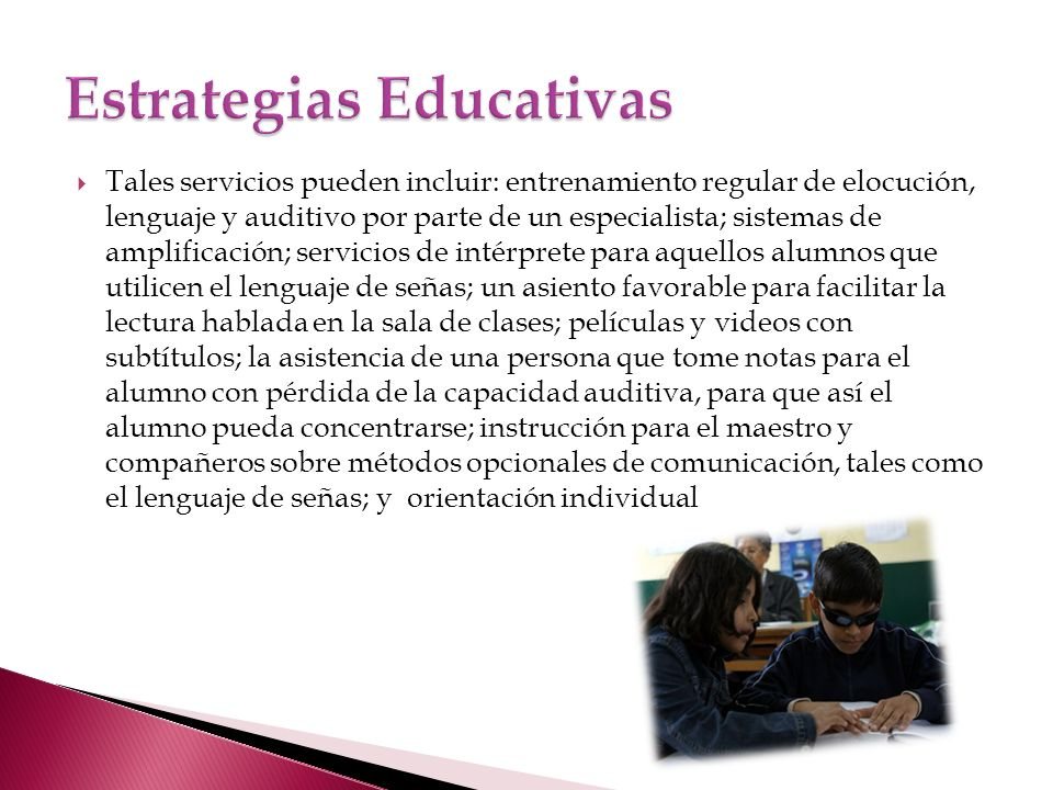 Estrategias Educativas
