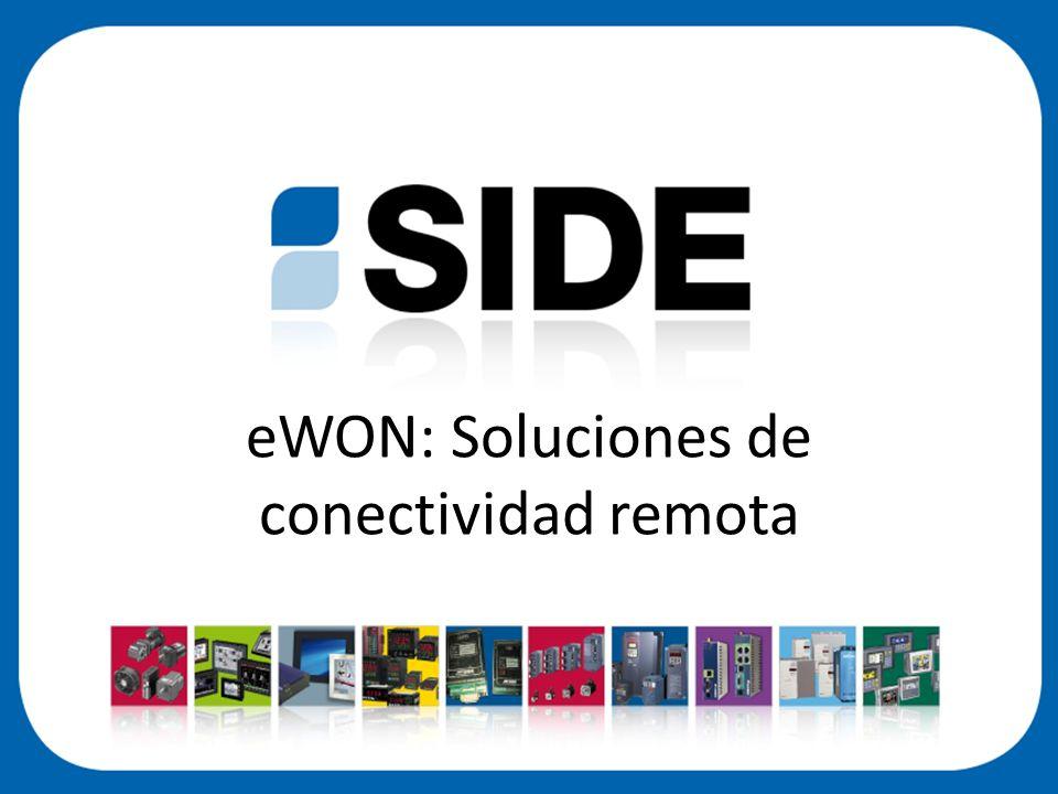 eWON: Soluciones de conectividad remota