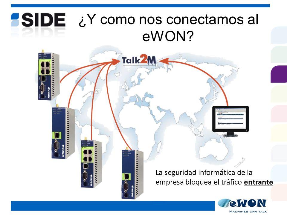 ¿Y como nos conectamos al eWON