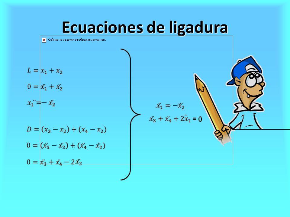 Ecuaciones de ligadura