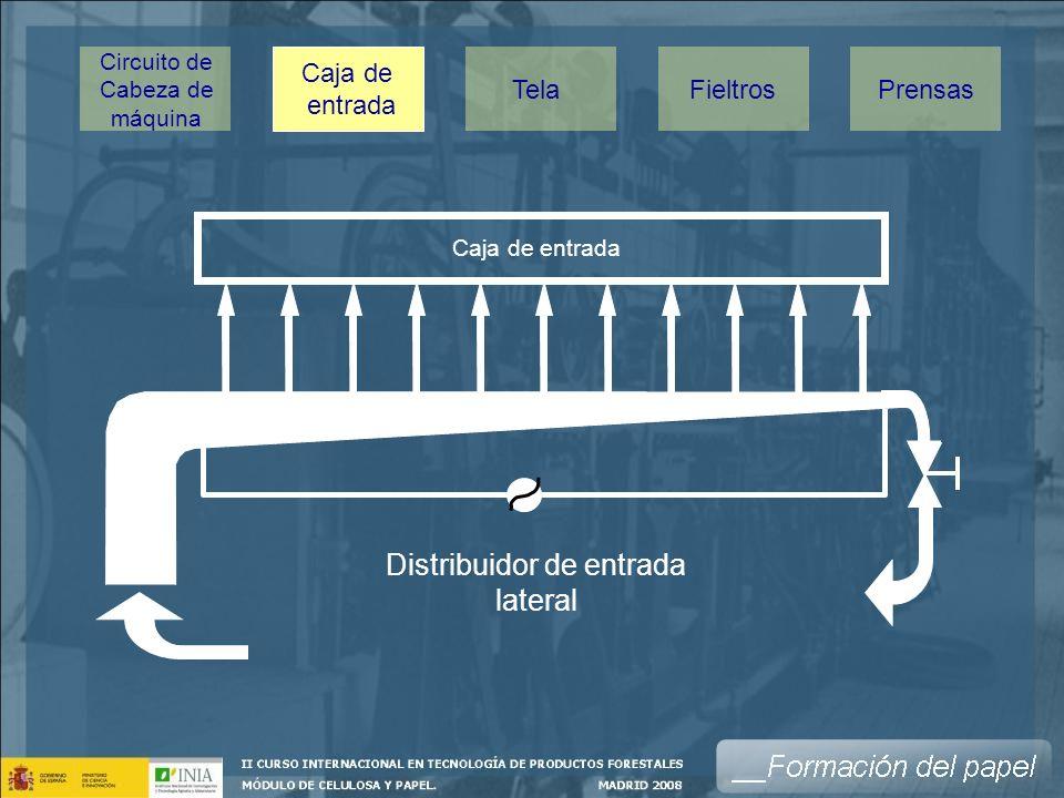 Distribuidor de entrada lateral