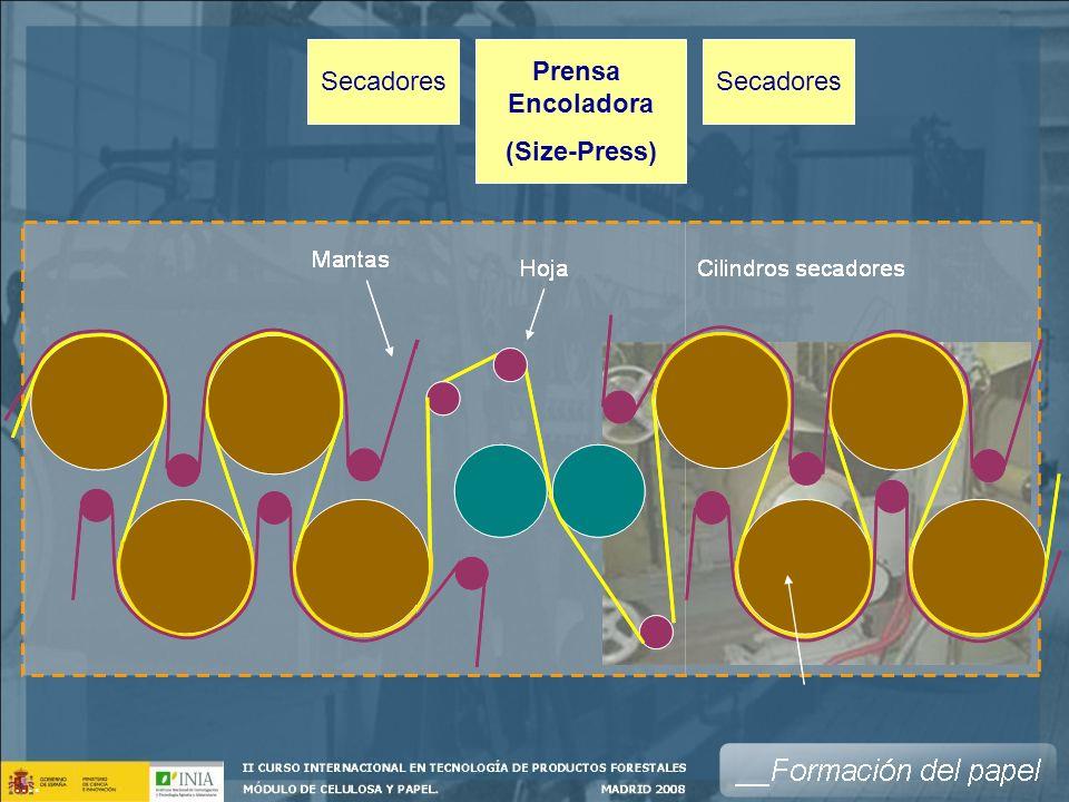 Prensa Encoladora (Size-Press)
