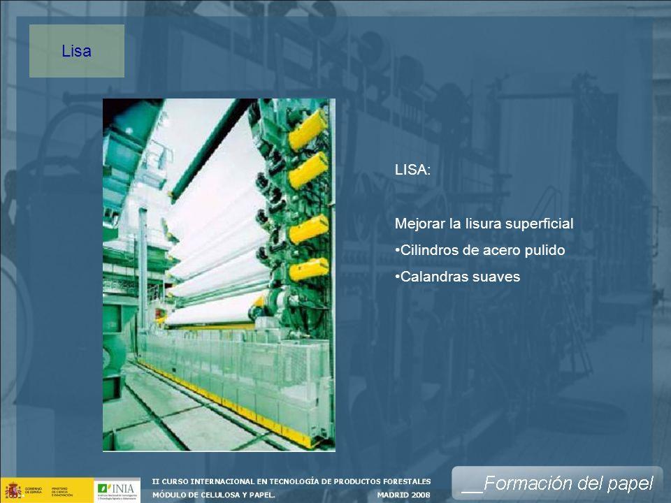 Lisa LISA: Mejorar la lisura superficial Cilindros de acero pulido