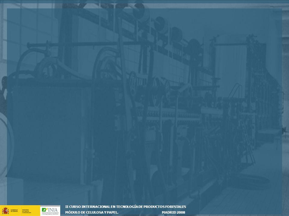 II CURSO INTERNACIONAL EN TECNOLOGÍA DE PRODUCTOS FORESTALES
