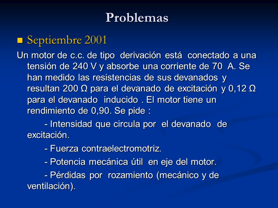 Problemas Septiembre 2001.