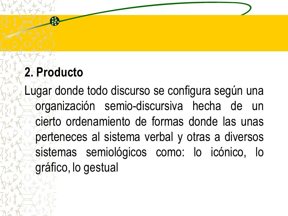 2. Producto