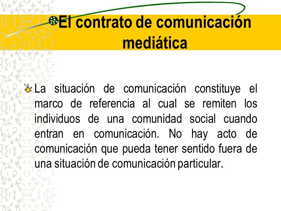 El contrato de comunicación mediática