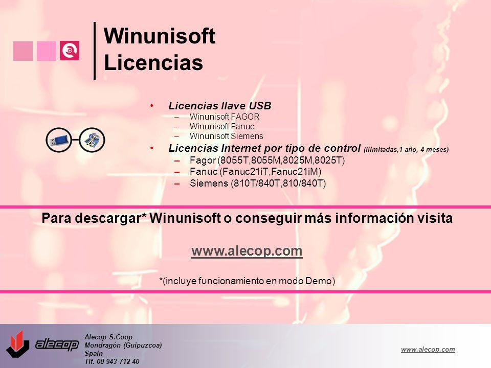 Para descargar* Winunisoft o conseguir más información visita