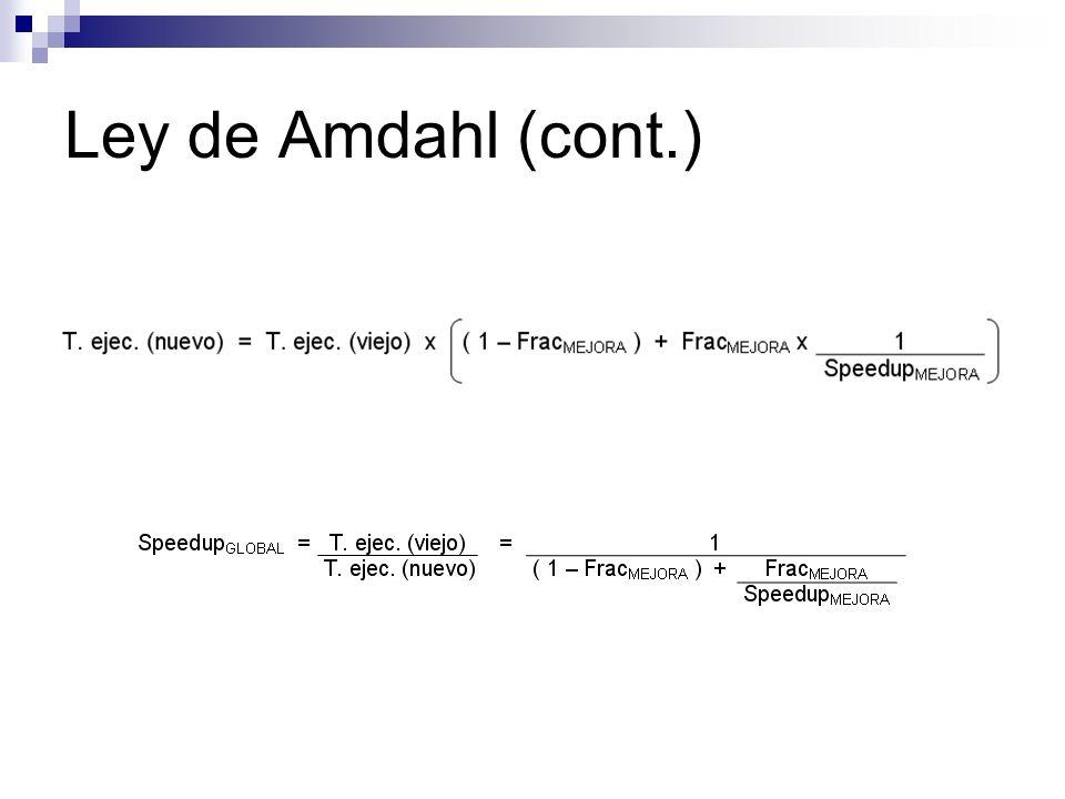 Ley de Amdahl (cont.)