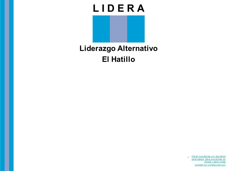Liderazgo Alternativo El Hatillo