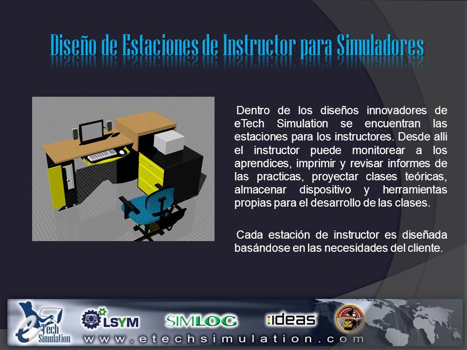 Diseño de Estaciones de Instructor para Simuladores