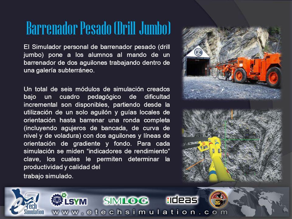 Barrenador Pesado (Drill Jumbo)